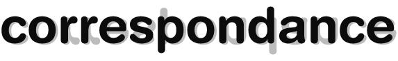 Correspondance Logo